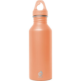 MIZU M5 - Gourde - with Peach Loop Cap 500ml orange